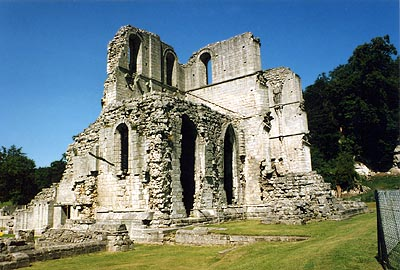 Roche Abbey in Yorkshire