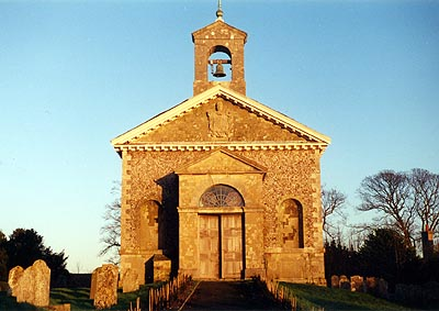 Glynde Church in Sussex