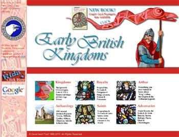 Early British Kingdoms Website