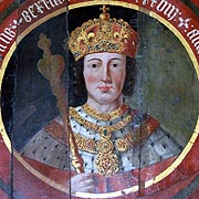 Painting of King Henry VI - © Nash Ford Publishing